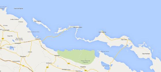 ayo Santa Maria Cuba Map