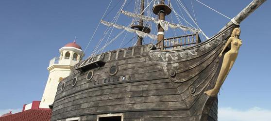 Galeon el Pirata Cayo Santa Maria